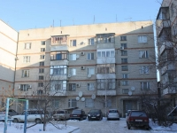 Krymsk, Demyan Bedny st, house 1. Apartment house with a store on the ground-floor
