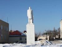 Крымск, улица Ленина. памятник В.И. Ленину