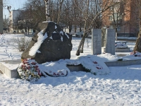 Крымск, улица Пролетарская. памятник погибшим в локальных конфликтах