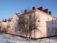 Krymsk, Sinev st, house 12. Apartment house