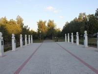 Темрюк, улица Розы Люксембург. мемориальный комплекс Аллея Славы