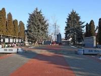Тимашевск, мемориальный комплекс Вечный огоньулица Ленина, мемориальный комплекс Вечный огонь