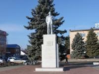 Тимашевск, улица Красная. памятник В.И. Ленину