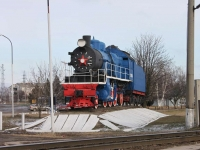 Тимашевск, Паровозулица Шереметова, Паровоз