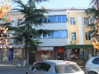 Tuapse, Gagarin st, house 2. Apartment house with a store on the ground-floor