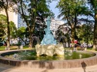 Туапсе, Карла Маркса ул, фонтан
