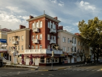 Tuapse, Karl Marks st, house 8. Apartment house with a store on the ground-floor