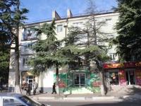Туапсе, улица Мира, дом 2. жилой дом с магазином