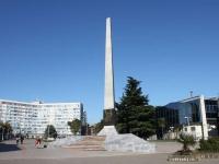Туапсе, улица Гоголя. обелиск Борцам за власть Советов