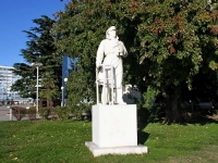 Туапсе, скульптура Капитанплощадь Октябрьской Революции, скульптура Капитан