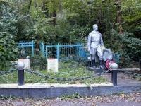 Туапсе, улица Кирова. Братская могила