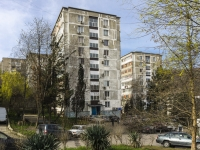 Туапсе, улица Черноморская, дом 4. многоквартирный дом