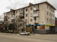 Tuapse, Bogdan Khmelnitsky st, house 5. Apartment house with a store on the ground-floor