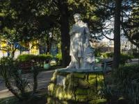 Tuapse, monument А.С. ПушкинуIl'icha sq, monument А.С. Пушкину