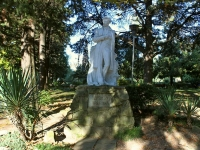 Туапсе, памятник А.С. Пушкинуплощадь Ильича, памятник А.С. Пушкину