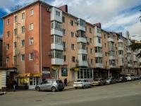 Туапсе, улица Комсомольская, дом 1. жилой дом с магазином