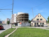 Ставрополь, улица Пирогова. строящееся здание