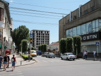Ставрополь, улица Орджоникидзе, дом 62. строящееся здание
