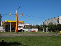 Ставрополь, улица Октябрьская, дом 182В. автозаправочная станция Роснефть
