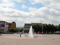 Ессентуки, улица Кисловодская. фонтан