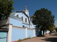 Кисловодск, улица Пешеходная, дом 30. церковь Воздвижения Креста Господня