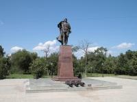 Минеральные Воды, улица Советская. памятник Ермолову А. П.