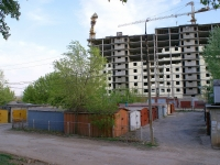 Astrakhan, Studencheskaya st, house 7 к.1. building under construction