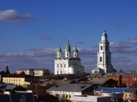 Астрахань, улица Тредиаковского, дом 2. собор Успенский кафедральный