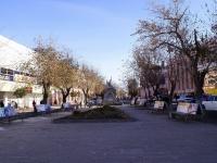 Astrakhan, monument А.Е. ТрусовуKirov st, monument А.Е. Трусову