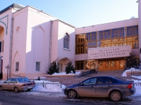 Astrakhan, library АСТРАХАНСКАЯ ОБЛАСТНАЯ НАУЧНАЯ БИБЛИОТЕКА им. Н. К. Крупской, Esplanadnaya st, house 14