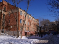 Astrakhan, Sovetskaya st, house 2Б. Apartment house with a store on the ground-floor