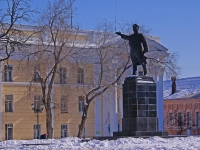 Astrakhan, monument С.М. КировуSovetskaya st, monument С.М. Кирову