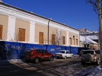 Astrakhan, st Krasnogo znameni. building under reconstruction