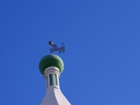 Астрахань, памятник архитектуры Башня Спасо-Преображенского монастыря, улица Коммунистическая, дом 11