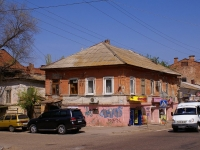 Astrakhan, Kommunisticheskaya st, house 33. Apartment house with a store on the ground-floor