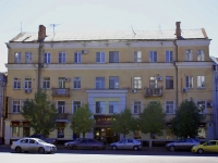 Astrakhan, Lenin st, house 4. Apartment house with a store on the ground-floor