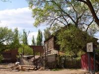 Astrakhan, Kuybyshev st, house 5. dangerous structure