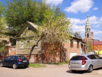 Astrakhan, Kuybyshev st, house 8. Private house