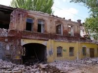 Astrakhan, Kuybyshev st, house 15. dangerous structure