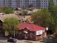 Astrakhan, Kuybyshev st, house 66. Apartment house with a store on the ground-floor