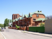 Astrakhan, Kuybyshev st, house 106. Apartment house