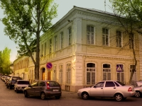 Astrakhan, technical school Астраханский техникум легкой промышленности, Krasnaya naberezhnaya st, house 20