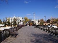 Astrakhan, bridge ВлюбленныхKrasnaya naberezhnaya st, bridge Влюбленных