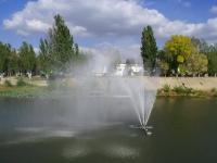 Астрахань, фонтан На стрелкеулица Красная набережная, фонтан На стрелке