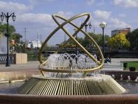 Astrakhan, fountain Свадебный вальсKrasnaya naberezhnaya st, fountain Свадебный вальс