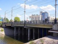 Астрахань, мост Коммерческийулица Красная набережная, мост Коммерческий