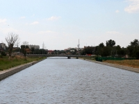 Astrakhan, Krasnaya naberezhnaya st, bridge