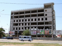 Astrakhan, Pobedy st, building under construction