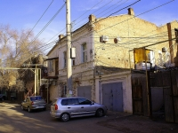 Astrakhan, Admiralteyskaya st, house 35. Apartment house with a store on the ground-floor