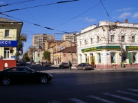 Astrakhan, Admiralteyskaya st, house 41. Apartment house with a store on the ground-floor